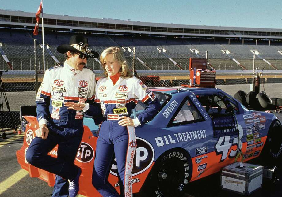 This photo, of Diane Sawyer and NASCAR star Richard Petty, was probably during her 20/20 days in the late 80s.  Photo: RacingOne, Getty Images / 2010 RacingOne