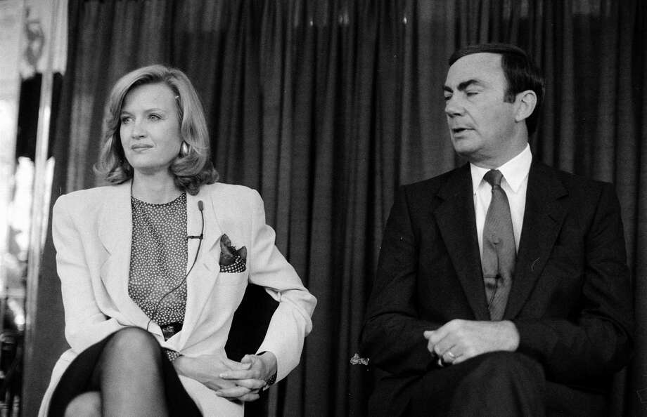 Diane Sawyer and Sam Donaldson in 1989, the year they began co-anchoring ABC's Primetime Live together. Photo: Time & Life Pictures, Getty Images / Time & Life Pictures