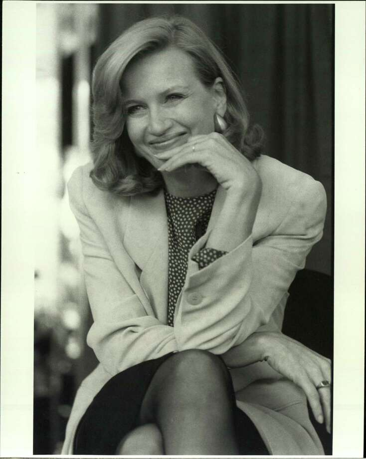Diane Sawyer, 1989.  Photo: Time & Life Pictures, Getty Images / Time & Life Pictures