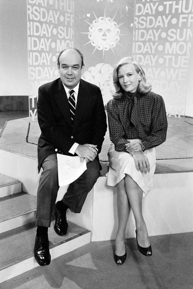 CBS morning news anchors Diane Sawyer and Charles Kuralt are pictured on August 17, 1981. Photo: CBS Photo Archive, Getty Images / 1981 CBS Photo Archive