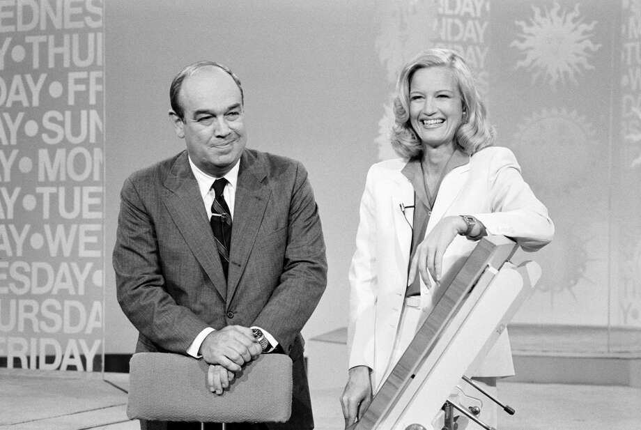 Diane Sawyer became CBS' morning news co-anchor with Charles Kuralt in 1981.  Photo: CBS Photo Archive, Getty Images / 1981 CBS Photo Archive