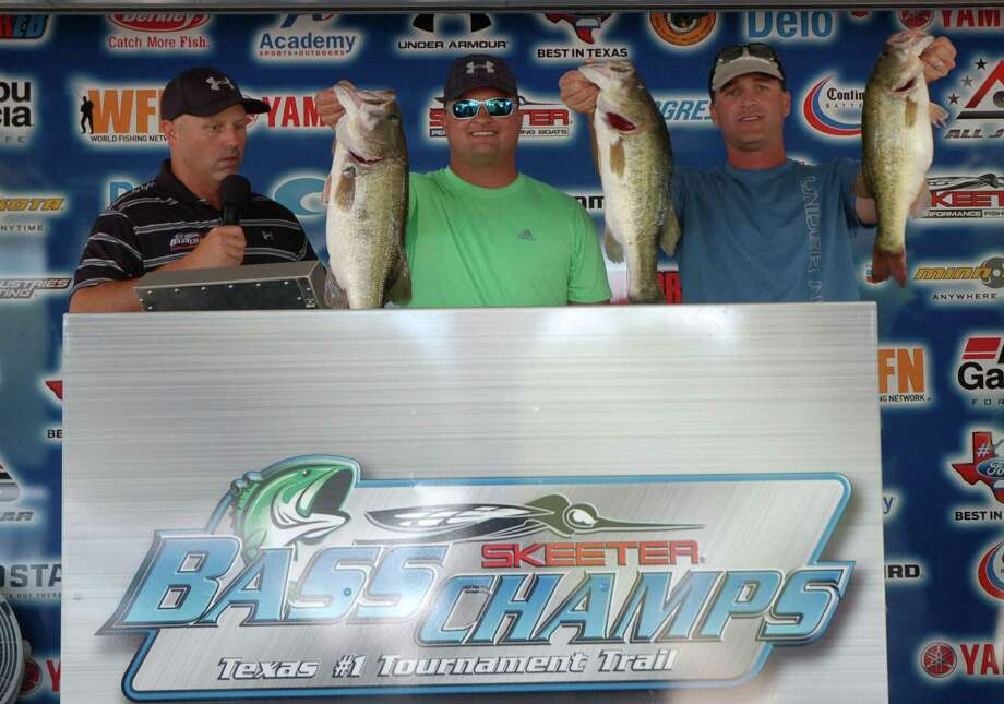 Brothers Jason & Jared Dean won the final event on Sam Rayburn with a 17.39 lb sack Photo by Patty Lenderman / Lakecaster