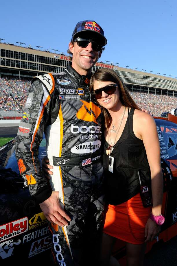 Married X Games stars Travis Pastrana (a former NASCAR driver) and Lyn-Z Adams Pastrana Photo: John Harrelson, Getty Images