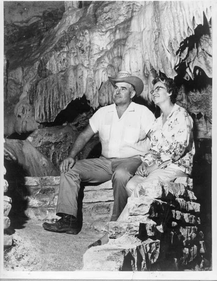 Natural Bridge Caverns was found by landowners Clara Wuest Heidemann, Harry Heidemann (seen here) and Reggie Wuest in 1964. It is still family-owned. Photo: Courtesy: Natural Bridge Caverns