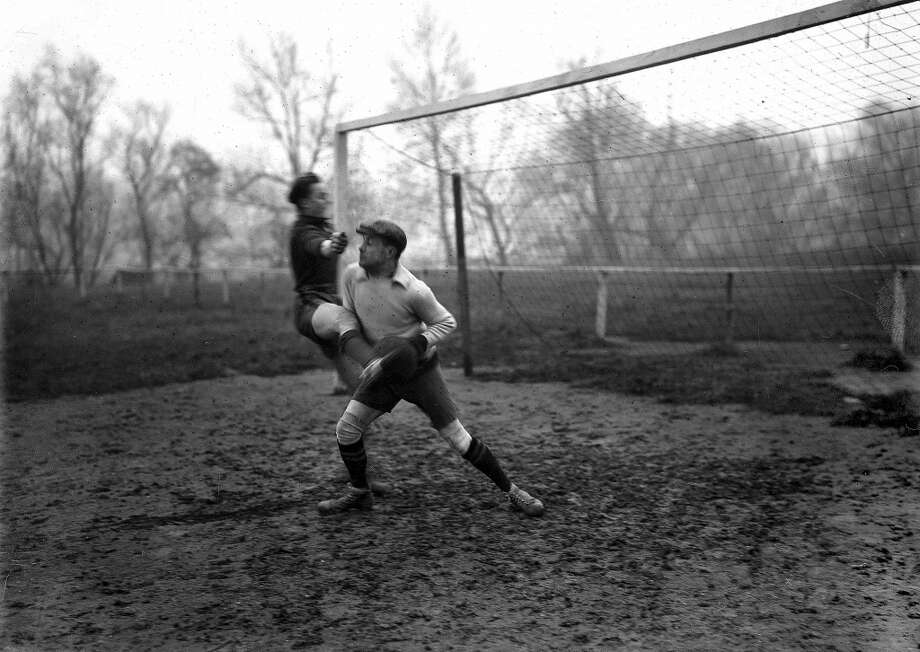 French writer (and goalkeeper) Henry de Montherlant in 1923. Photo: Branger, Roger Viollet/Getty Images