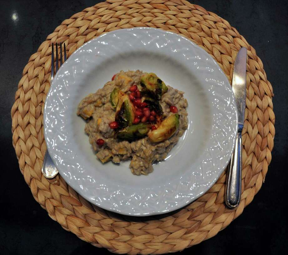 Sunflower seed risotto by Ranch 4.0 chef Meredith Haaz Photo: Melissa Ward Aguilar