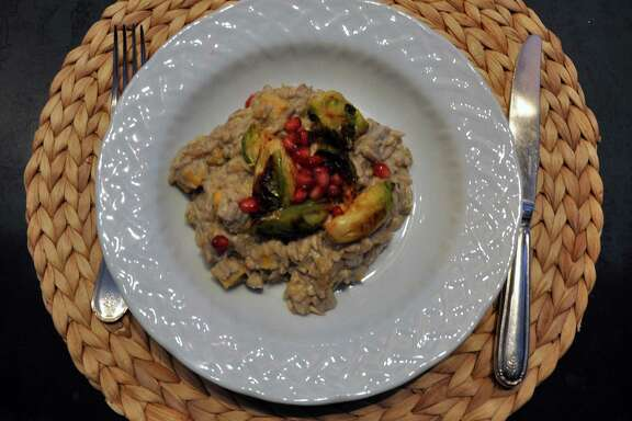 Sunflower seed risotto by Ranch 4.0 chef Meredith Haaz