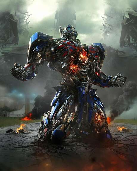 Optimus Prime, leader of the good-guy Autobots, returns for more robot-morphing action in the series' fourth chapter. Photo: Industrial Light & Magic, Paramount Pictures