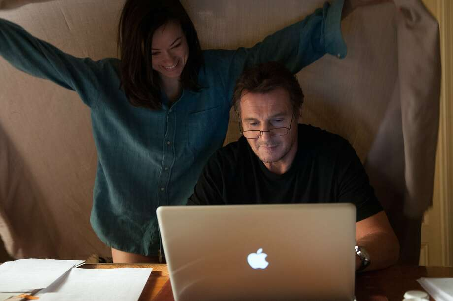 "Olivia Wilde as Anna and Liam Neeson as Michael in, ""Third Person."" Photo: Maria Marin, Sony Pictures Classics"