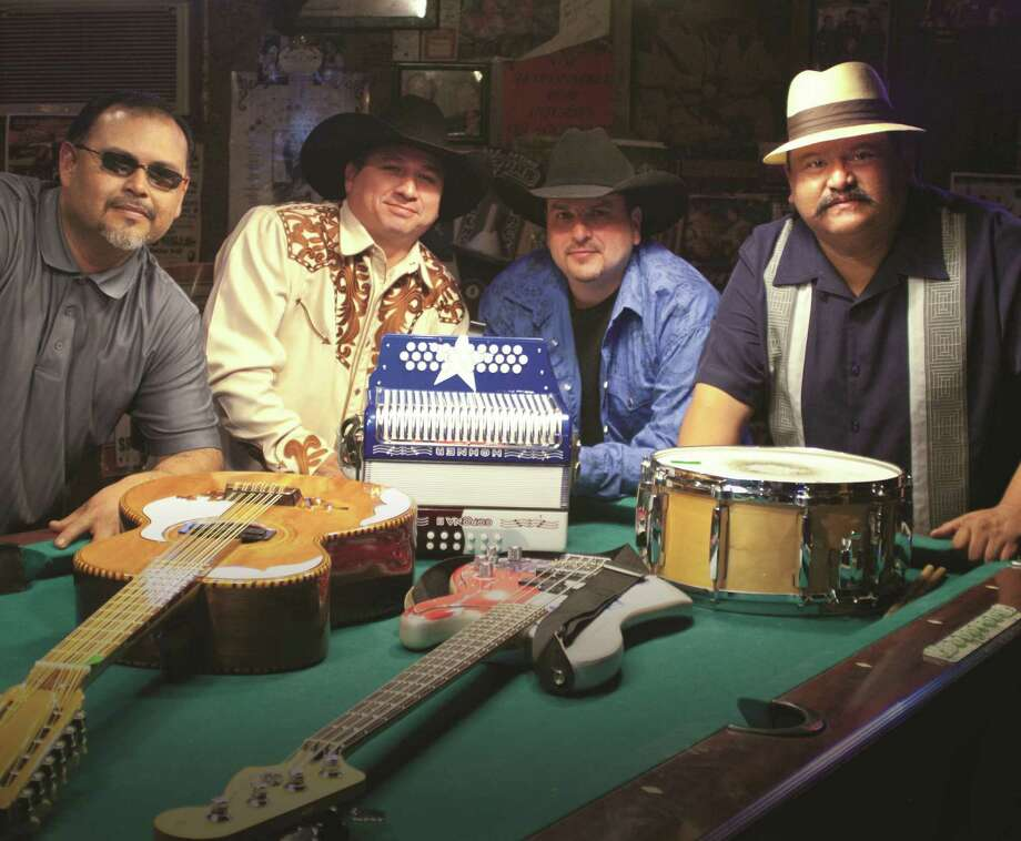 Oscar García (from left), David Farías, Max Baca Jr. and Lorenzo Martínez are set to release their second TexManiacs album. Photo: Courtesy Smithsonian Folkways