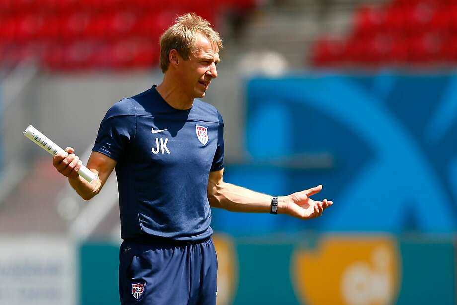 U.S. coach Jurgen Klinsmann and five of his players' German roots are factors Thursday. Photo: Kevin C. Cox, Getty Images