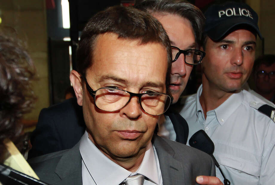 FILE - In this June 11, 2014 file photo, former Bayonne's hospital doctor Nicolas Bonnemaison arrives at the courthouse of Pau, southwestern France, for the first day of his trial on poisoning charges, for having given lethal injections to help seven terminally ill patients die. Simultaneously,  Europe's top human rights court ordered doctors to continue treatment for a man left comatose after a car accident six years ago, overruling a French panel in a highly unusual late-night decision.  (AP Photo/Bob Edme, File) Photo: Bob Edme, STR / AP