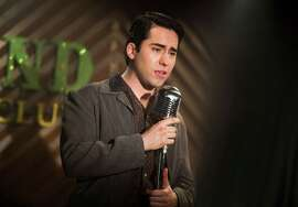"John Lloyd Young as Frankie Valli in Warner Bros. Pictures' musical ""Jersey Boys."""