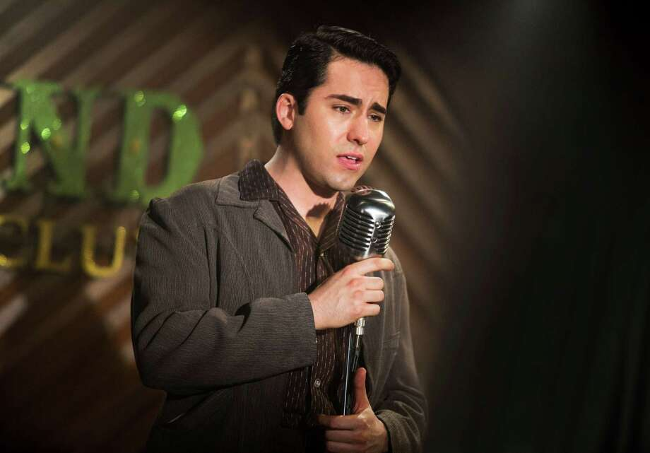 "John Lloyd Young as Frankie Valli in Warner Bros. Pictures' musical ""Jersey Boys."" Photo: Keith Bernstein / Associated Press / Warner Bros. Pictures"