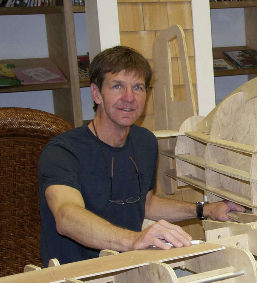 "Fairfield architect Joseph Schott will be Westport Library's ""Un-maker in Residence"" during July. His specialty: taking stuff apart. Photo: Contributed Photo / Connecticut Post Contributed"