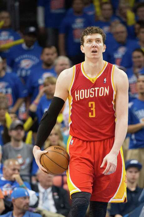 Center Omer Asik spent two seasons with the Rockets after signing as a free agent. Photo: Smiley N. Pool, Staff / © 2013  Houston Chronicle