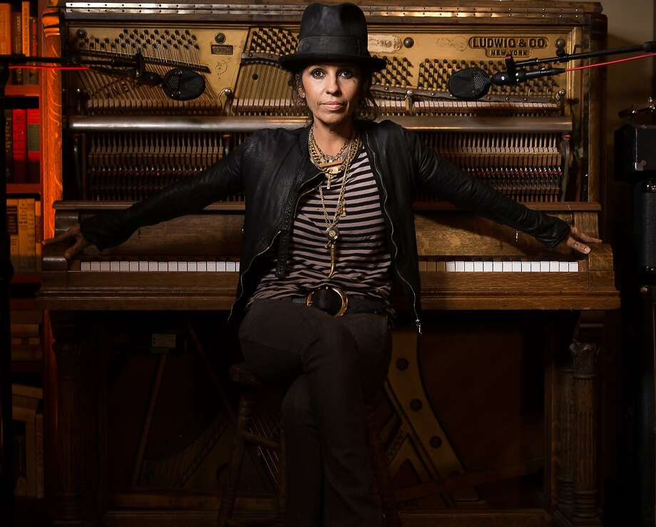 Linda Perry poses at Kung Fu Studios during press day for The Linda Perry Project on Wednesday, June 25, 2014, in Los Angeles. (Photo by Casey Curry/Invision/AP) Photo: Casey Curry, Associated Press