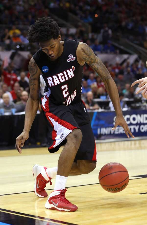 12. Orlando – Elfrid Payton, 6-4, G, Louisiana Lafayette  One of the most rapid risers through the process, Payton could even go several places higher. Photo: Ronald Martinez, Getty Images