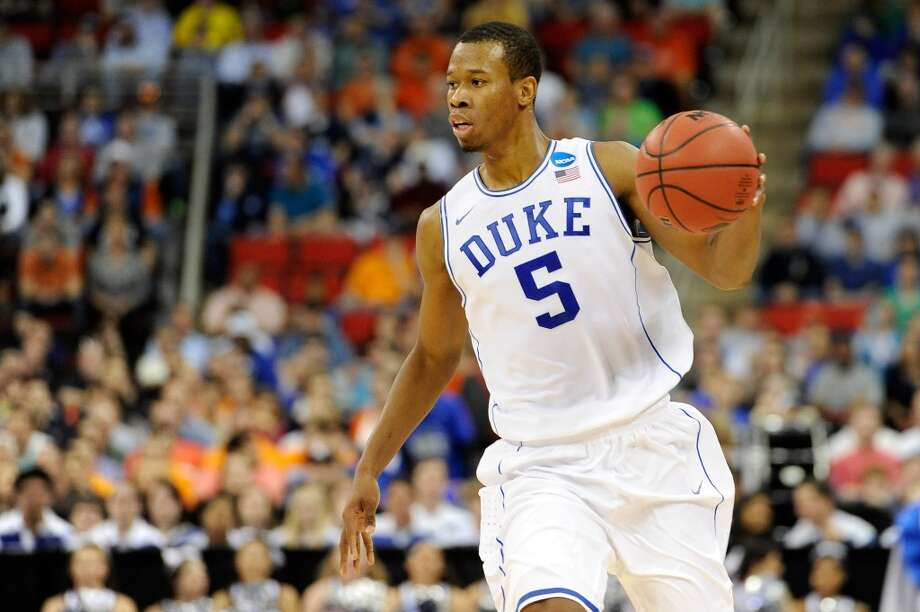 16. Chicago – Rodney Hood, 6-8, F, DukeThe Bulls have been among the teams open to moving picks, hoping to avoid to taking up too much cap room on first-rounders, but could be drawn to Hood's scoring. Photo: Grant Halverson, Getty Images
