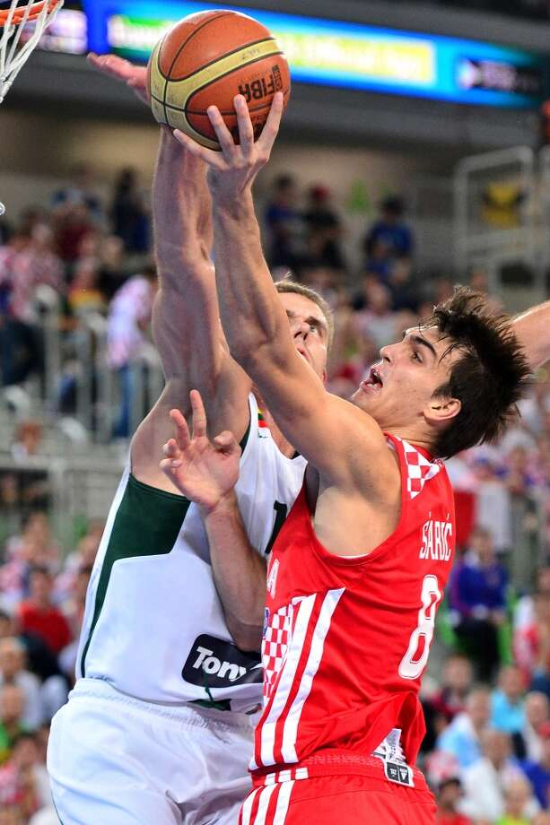 17. Boston – Dario Saric, 6-10, F, Cibona Zagreb  The Celtics would not think twice about getting a bargain at this point in the draft, with no need to be impatient waiting for it to pay off. Photo: AFP, AFP/Getty Images