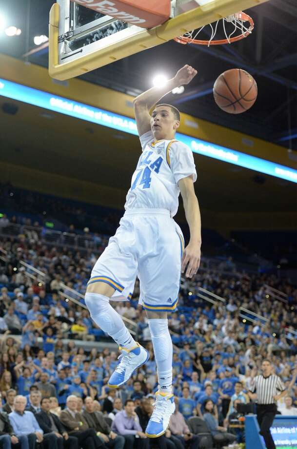 18. Phoenix – Zach LaVine, 6-6, G, UCLAThe Suns are among the teams open to moving picks, especially if their choices begin to duplicate one another. They could opt for P.J. Hairston, but LaVine has intriguing tools. Photo: Harry How, Getty Images