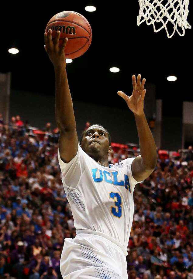 28. Los Angeles Clippers – Jordan Adams, 6-4, G, UCLA  Adams would be a strong shooter that could provide spacing for the stars of the local team. Photo: Jeff Gross, Getty Images