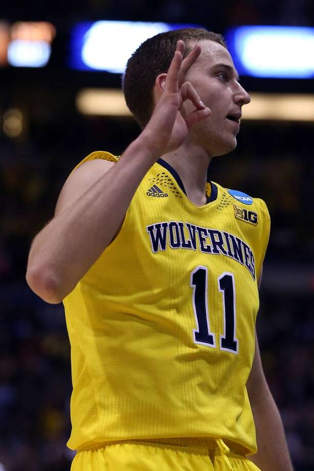 10. Philadelphia – Nik Stauskas, 6-7, G, Michigan  The Sixers could opt for a more long-term project such as Dario Saric, but Stauskas' shooting moved him up the board. Photo: Jonathan Daniel, Getty Images