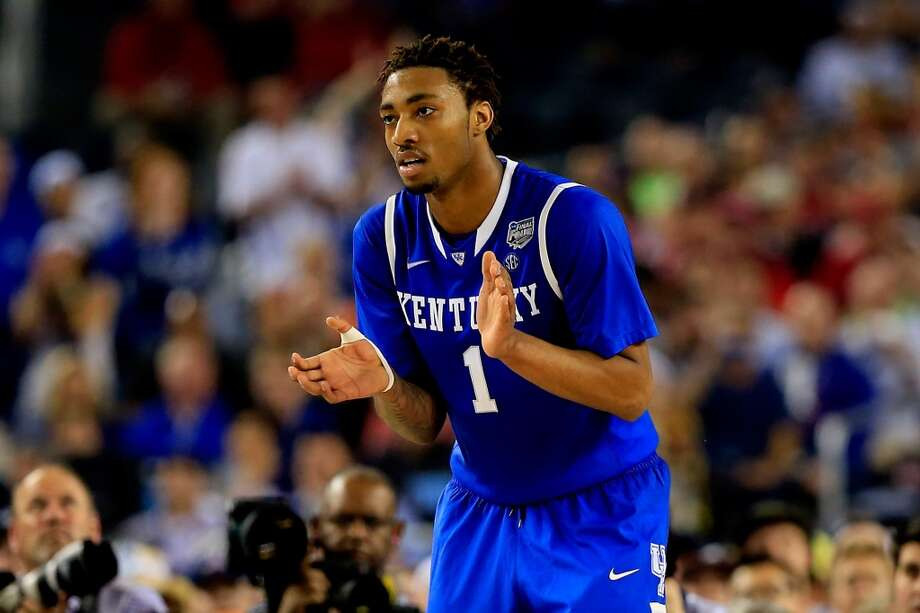 15. Atlanta – James Young, 6-7, G, Kentucky  Dario Saric's slide after signing to remain in Europe could end here, but the Hawks are more likely to seek more immediate help that normally around for a playoff team midway through the first round. Photo: Jamie Squire, Getty Images