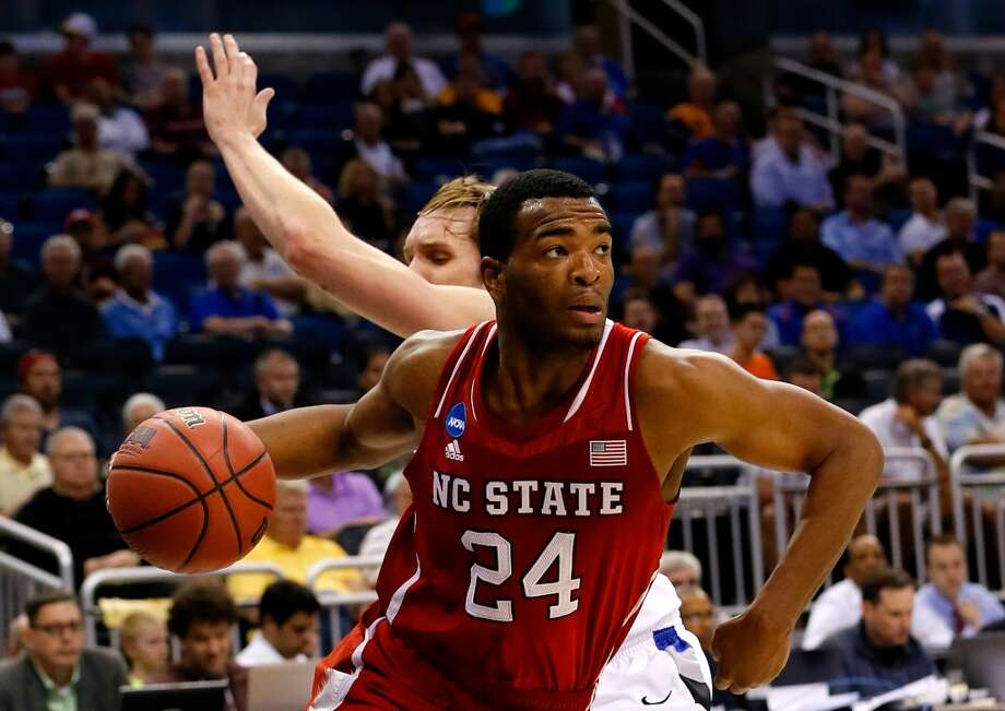 23. Utah -- T.J. Warren, 6-8, F, North Carolina State  Warren could go considerably earlier, but if he sticks around long enough, has a versatile offensive game that could get on the floor quickly for the Jazz. Photo: Kevin C. Cox, Getty Images