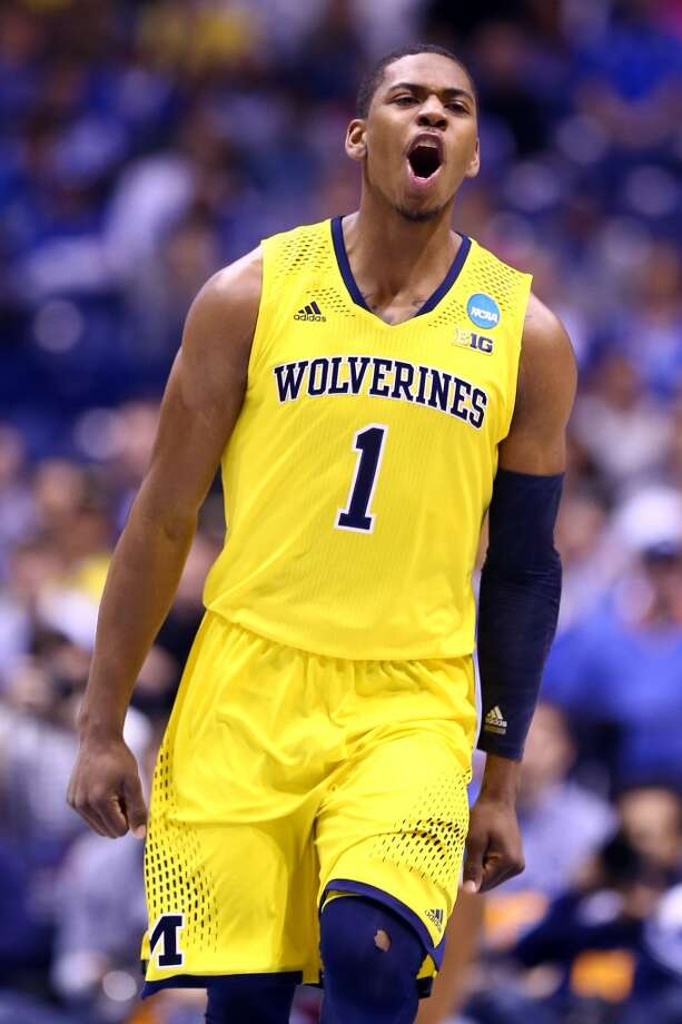 29. Oklahoma City – Glenn Robinson, 6-7, F, Michigan  Robinson draws mixed reactions, but he is a shooter with good size, qualities the Thunder usually seek in the draft. Photo: Andy Lyons, Getty Images