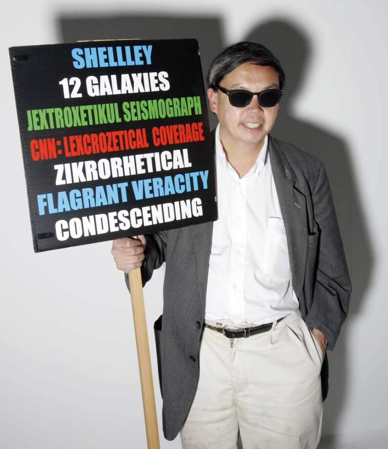 FRANK CHU: Alfogonic Constitutions. 12 Galaxies. Ectomollions of Populations. Photo: Chris Stewart, The Chronicle