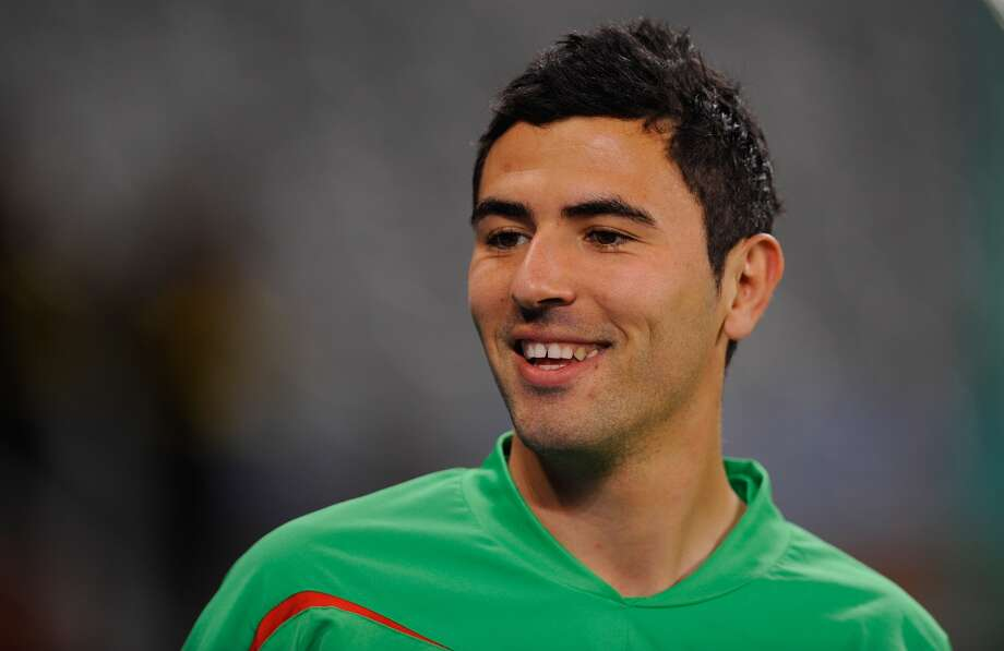Player:Anther YahiaGame: Algeria vs. United StatesOffense: Yelled at the referee Photo: Michael Regan, Getty Images