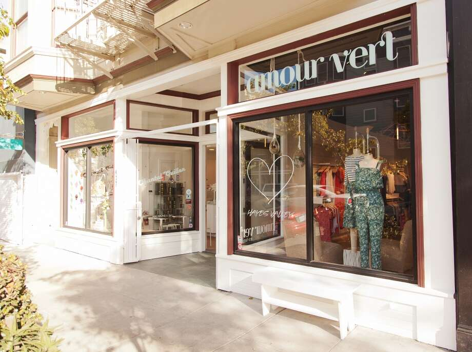 The new Amour Vert store in Hayes Valley. Photo: Photographer: Arturo Torres
