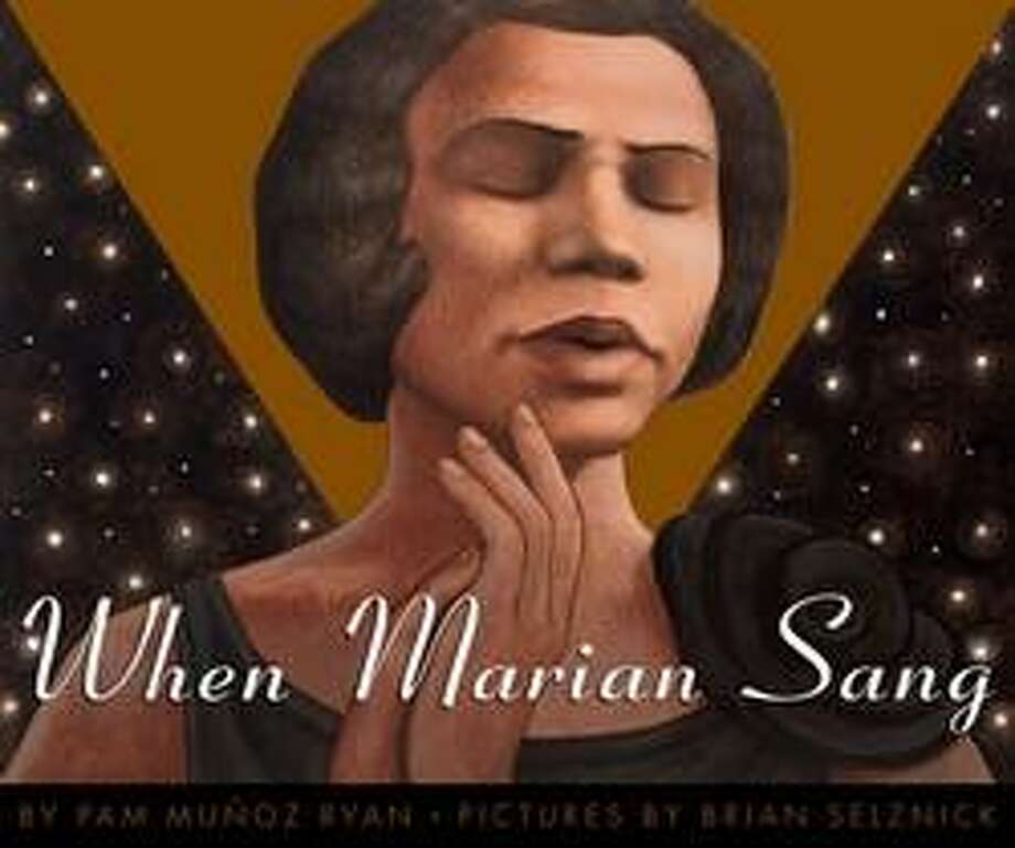18) When Marian Sang by Pam Munoz Ryan with illustrations by Brian Selznick