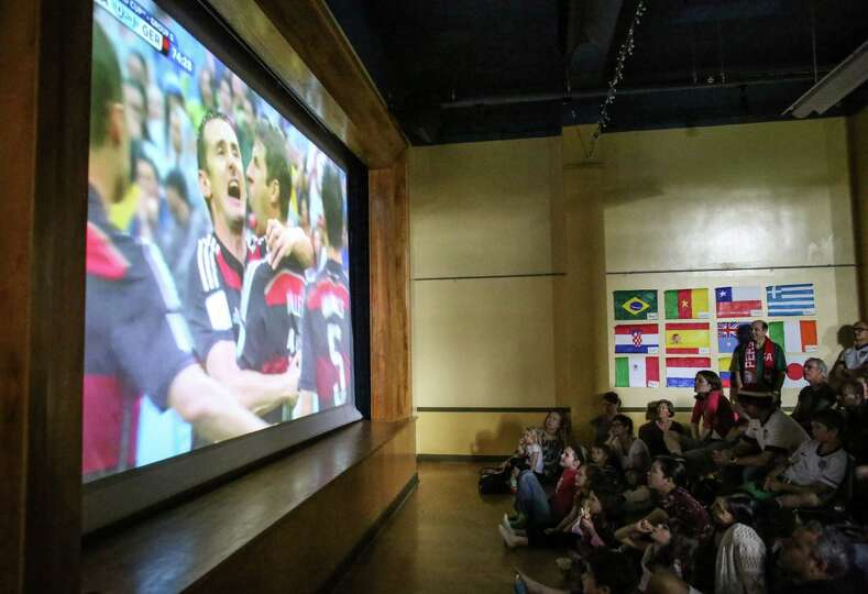 Watching 2014 World Cup at Phinney Center