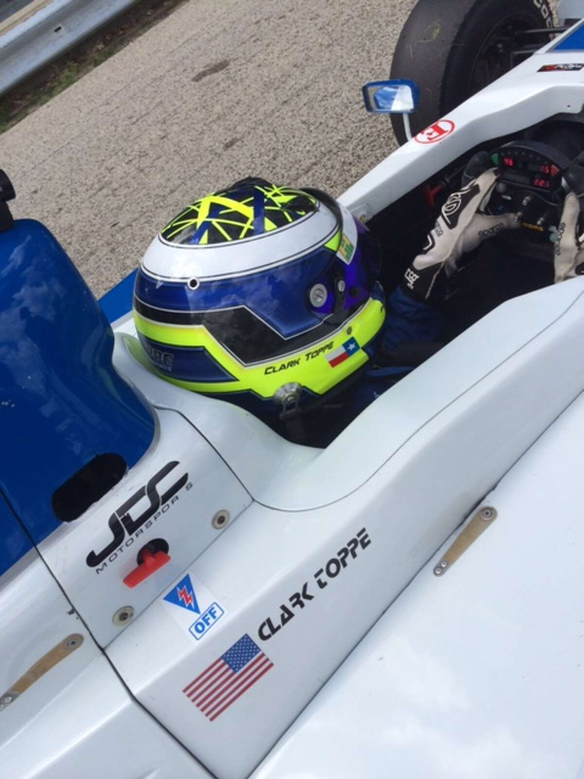 Woodlands teenager Clark Toppe will make his Pro Mazda debut at the Houston Grand Prix this weekend. The 16-year-old has been racing since he was 10.