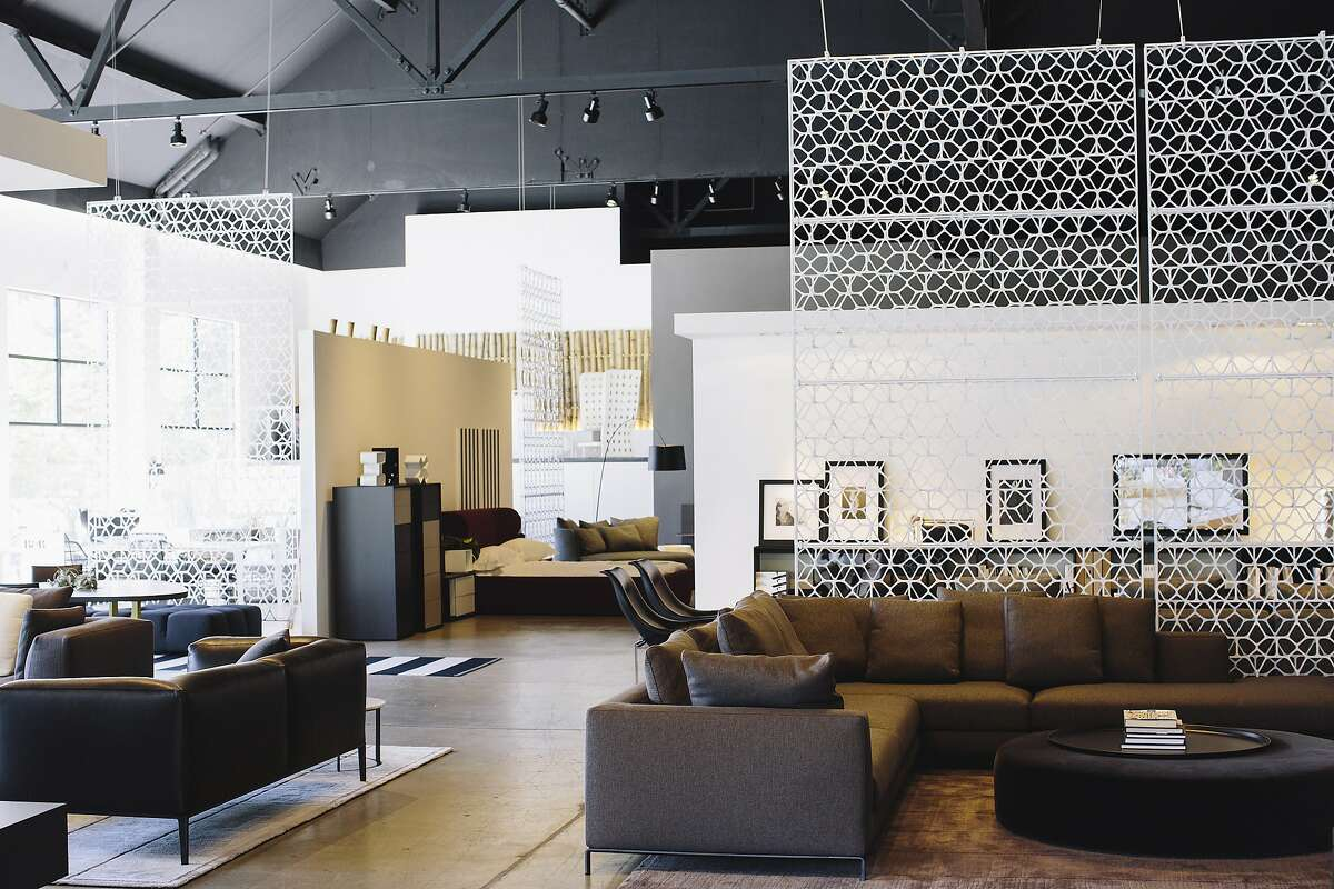 An interior view of the B&B Italia showroom in San Francisco, Calif. Tuesday, June 17, 2014.