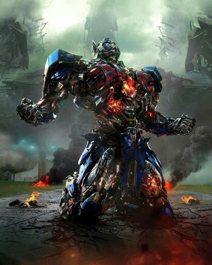 "This photo released by Paramount Pictures shows Optimus Prime in the film, ""Transformers: Age of Extinction."" (AP Photo/Paramount Pictures, ILM) ORG XMIT: CAET160 Photo: Industrial Light & Magic / Paramount Pictures"