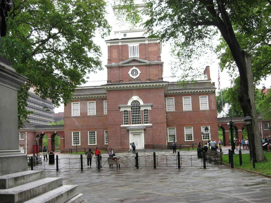 Ronald Shapiro / Special to the Times Union Independence Hall, originally known as the Pennsylvania State House, was the meeting place of the Continental Congress leading up to the signing of the Declaration of Independence here on July 4, 1776, in Philadelphia, Pa.