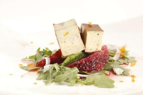Tofu, Blood Orange & Avocado Salad Tofu, Blood Orange & Avocado Salad
