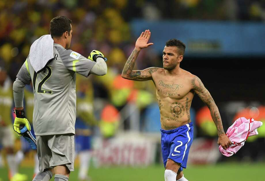 Dani Alves | Defender | Brazil Photo: FABRICE COFFRINI, AFP/Getty Images / AFP