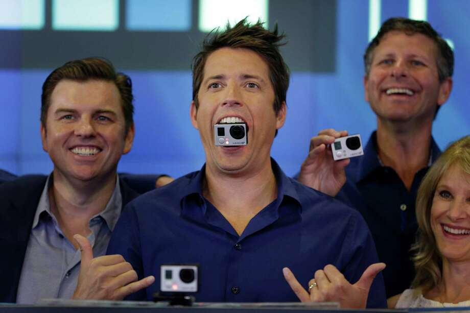 GoPro CEO Nick Woodman and his wife gave shares in the company to a fund. Photo: Seth Wenig / Associated Press / AP