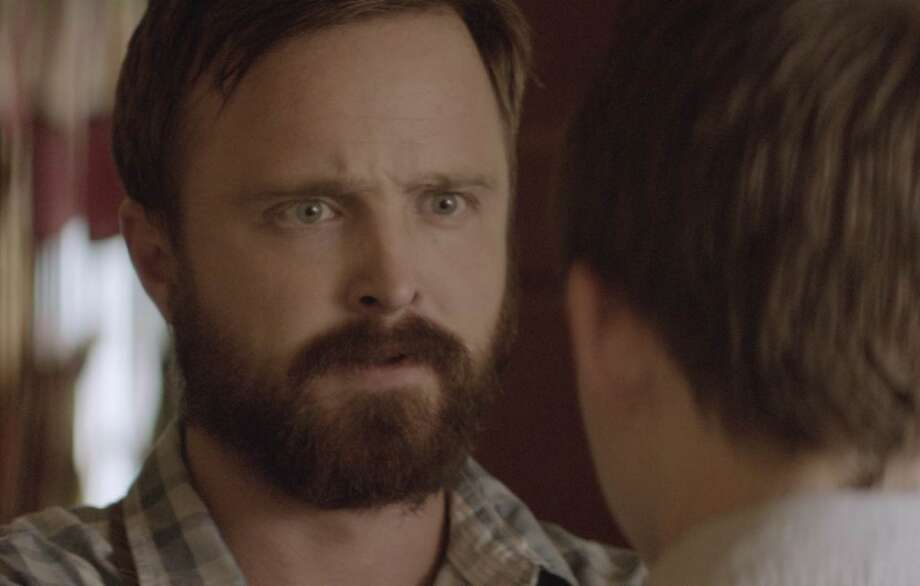 Aaron Paul (of Breaking Bad fams) as Hollis Wilson in Hellion Photo: Publicity Still