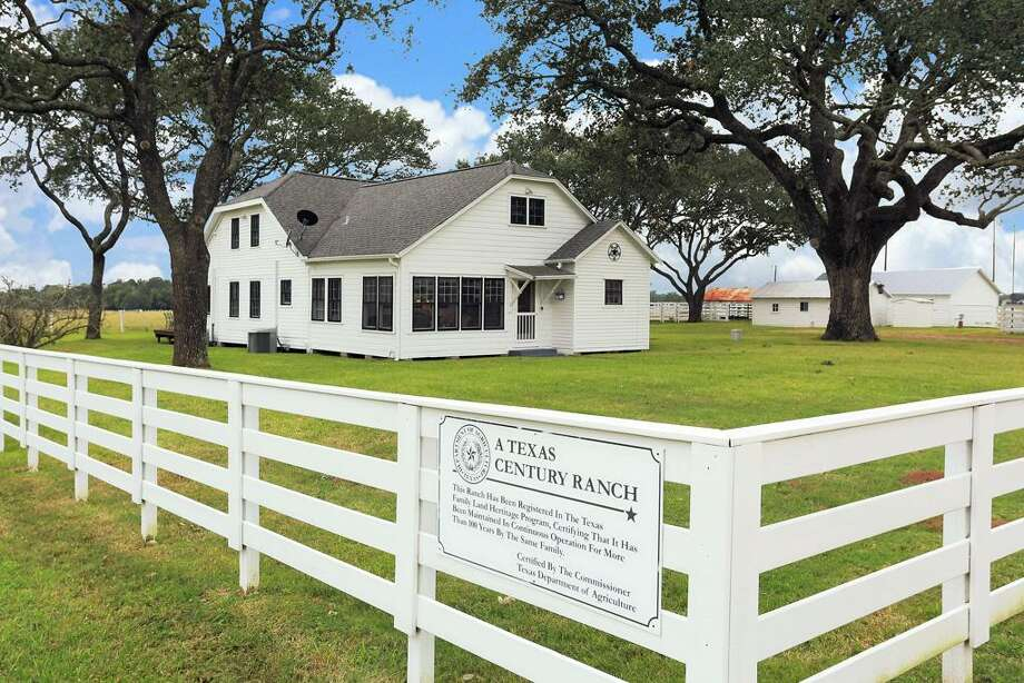 This beautiful property could be your chance to own a piece of Texas history. Photo: Houston Association Of Realtors