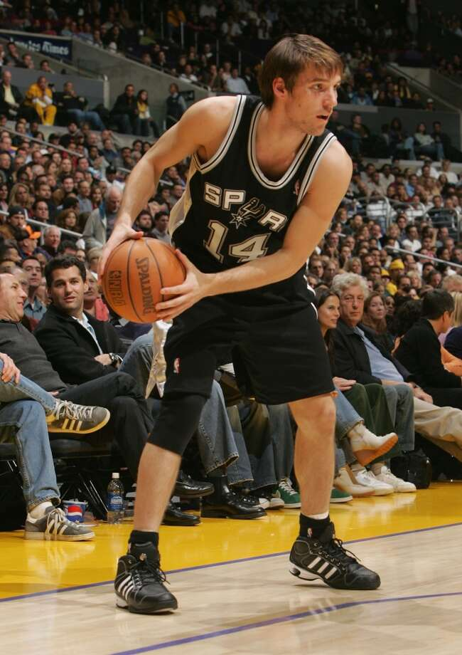 2004 at No. 28: Beno Udrih,  Slovenia Photo: Stephen Dunn, Getty Images