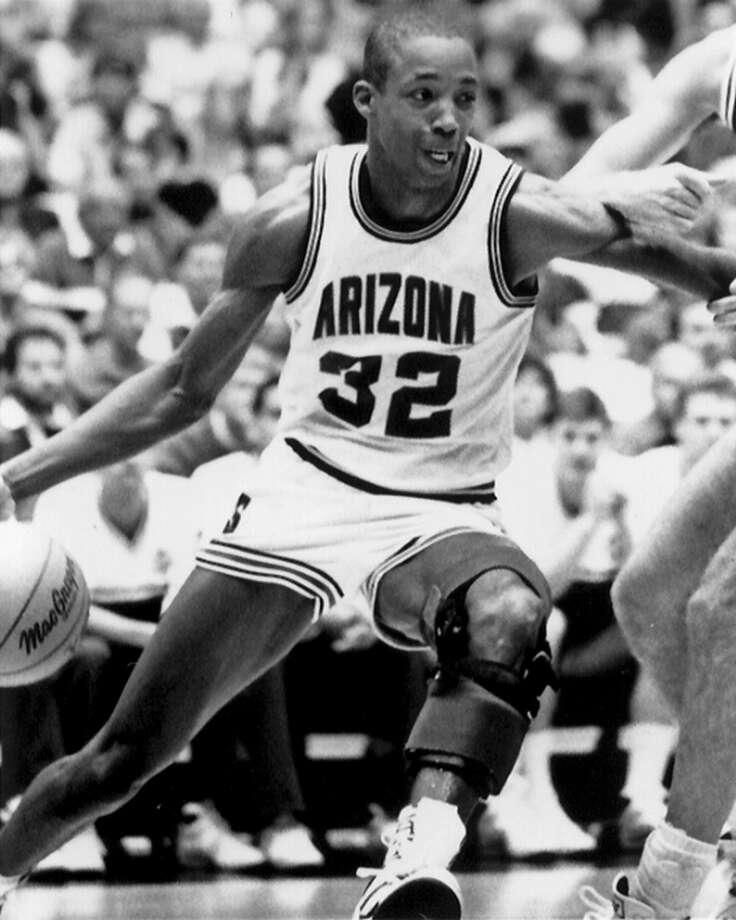 1989 at No. 3: Sean Elliott,  University of Arizona Photo: Collegiate Images, Getty Images