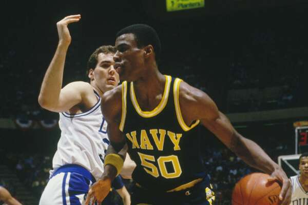 1987 at No. 1:  David Robinson ,  	United States Naval Academy