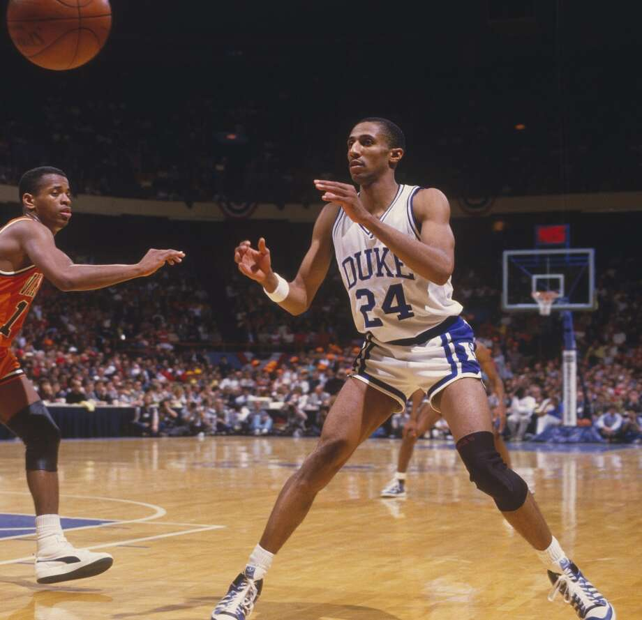 1986 at No. 10: Johnny Dawkins,  	Duke University Photo: Focus On Sport, Getty Images