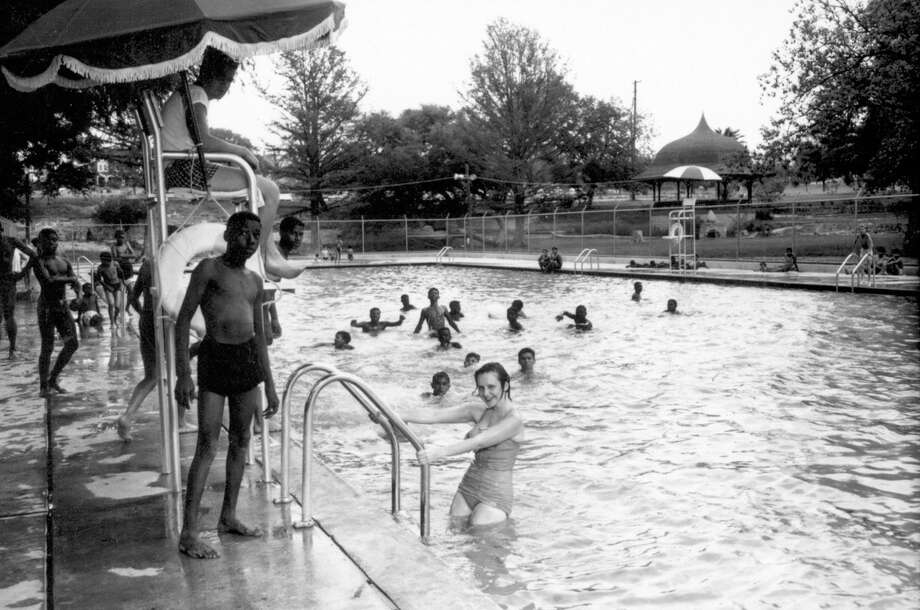 The desegregaton of North Side swimming pools is an often forgotten piece of the city's civil rights history. Photo: Courtesy Photo / UTSA LIBRARIES SPECIAL COLLECTIO