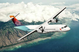Island Air, which has recently enhanced its gate area at Honolulu's Commuter Terminal to include free Wi-Fi and smartphone charging stations, has expanded its summer schedule to add an additional daily round-trip flight between Kauai and Honolulu through Aug. 17. Part of Larry Ellison's holdings since 2013, the airline also has five daily round-trips between Honolulu and Lanai.  All flights are on 64-passenger turboprops, with one-way fares starting at $65.
